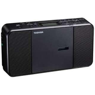 TY-C250 CDラジオ ブラック [ワイドFM対応]