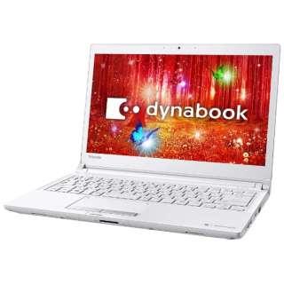 PRX73CWRBJA ノートパソコン dynabook (ダイナブック) プラチナホワイト [13.3型 /intel Core i5 /SSD:512GB /メモリ:8GB /2017年1月モデル]