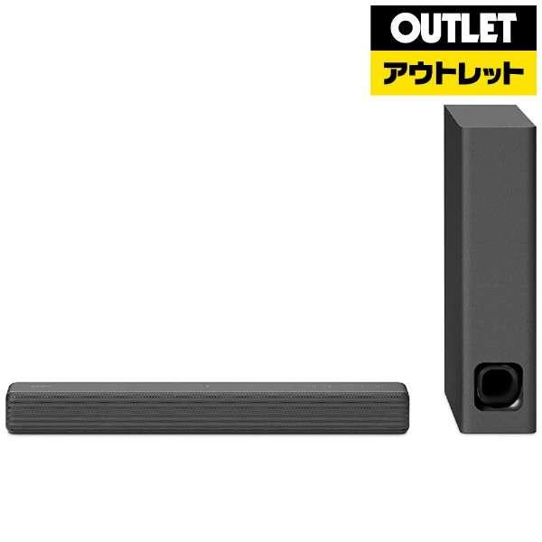 【アウトレット品】 ブルートゥース対応 TVスピーカー [Bluetooth対応] HT-MT300/BM  チャコールブラック 【生産完了品】