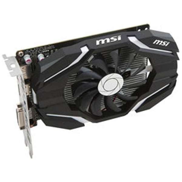 グラフィックボード NVIDIA GeForce GTX 1050搭載 PCI-Express MSI GeForce GTX 1050 2G OC[2GB/GeForce GTXリーズ] 【バルク品】