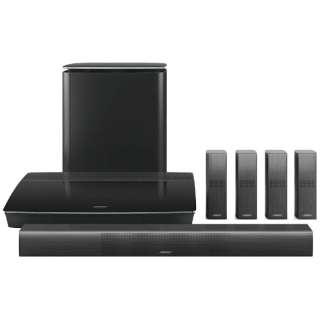 ホームシアター home entertainment system ブラック Lifestyle 650 [5.1ch /Bluetooth対応]