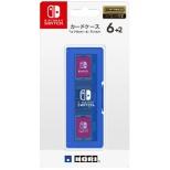 カードケース6+2 for Nintendo Switch ブルー【Switch】