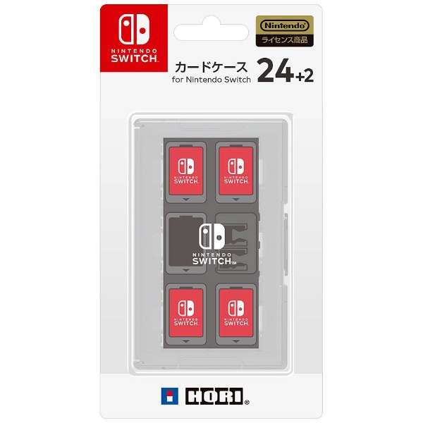 カードケース24+2 for Nintendo Switch ホワイト【Switch】