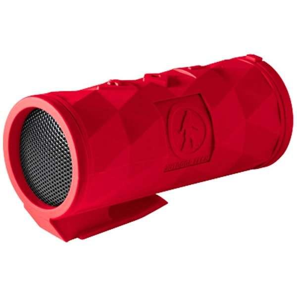 OT2301-R ブルートゥース スピーカー BUCKSHOT 2.0 レッド [Bluetooth対応 /防滴]