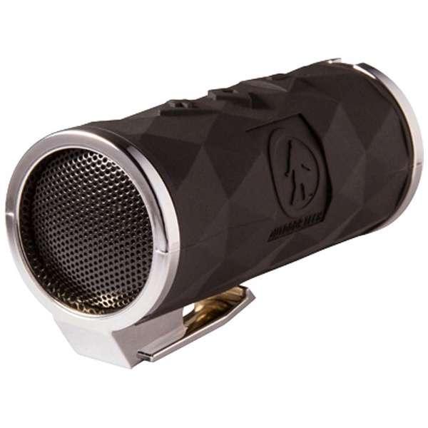 OT2301-CHR ブルートゥース スピーカー BUCKSHOT 2.0 ブラック/クローム [Bluetooth対応 /防滴]