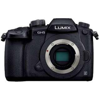 DC-GH5-K ミラーレス一眼カメラ LUMIX GH5 ブラック [ボディ単体]