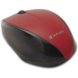 ワイヤレスBlue LEDマウス[2.4GHz・USB・Mac/Win](3ボタン・レッド) MUSWBLRV3