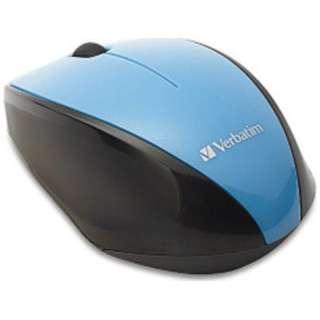 ワイヤレスBlue LEDマウス[2.4GHz・USB・Mac/Win](3ボタン・ブルー) MUSWBLBV3