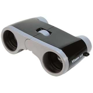 3倍双眼鏡 コンパクトオペラ 3x28 (ブラック)