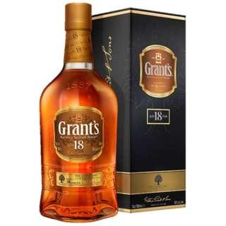 グランツ18年 700ml【ウイスキー】