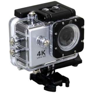 AC600 アクションカメラ Silver [4K対応 /防水]