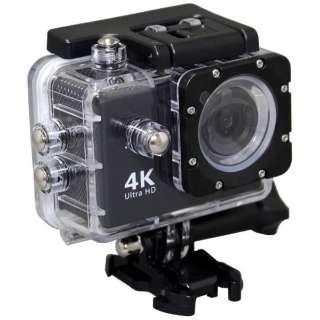 AC600 アクションカメラ Black [4K対応 /防水]