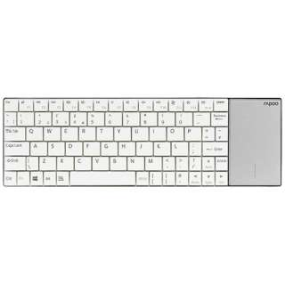 E2710W キーボード rapoo ホワイト [USB /ワイヤレス]