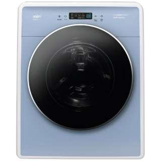 DW-D30A-B 全自動洗濯機 ブルー [洗濯3.0kg /乾燥機能無 /左開き] 【単体での使用はできません】