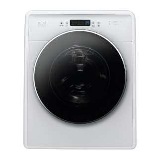 DW-D30A-W 全自動洗濯機 ホワイト [洗濯3.0kg /乾燥機能無 /左開き] 【単体での使用はできません】