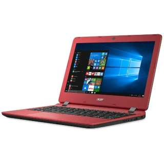 ES1-132-F14D/R ノートパソコン Aspire ES 11 ローズウッドレッド [11.6型 /intel Celeron /HDD:500GB /メモリ:4GB /2017年2月モデル]