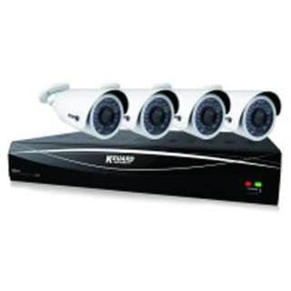 【屋内用】8チャンネルDVR+カメラ4台セット HD881-4WA813F