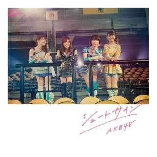 AKB48/シュートサイン Type B 通常盤 【CD】