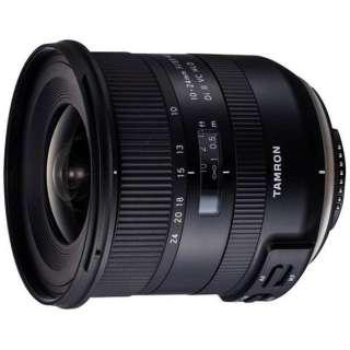 カメラレンズ 10-24mm F3.5-4.5 Di II VC HLD APS-C用 ブラック B023 [ニコンF /ズームレンズ]