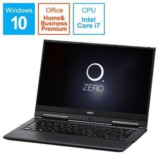 LAVIE Hybrid ZERO ノートパソコン メテオグレー PC-HZ750GAB [13.3型 /intel Core i7 /SSD:256GB /メモリ:8GB /2017年2月モデル]