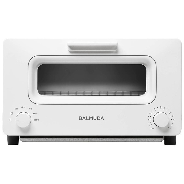 K01E-WS オーブントースター BALMUDA The Toaster ホワイト