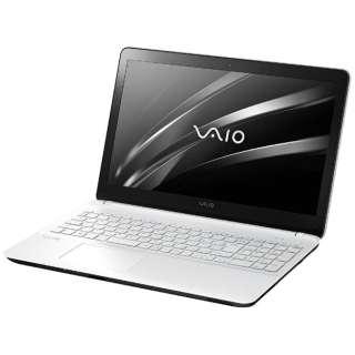 VJF15690511W ノートパソコン Fit15E mk3 ホワイト [15.5型 /intel Celeron /HDD:500GB /メモリ:4GB /2017年2月モデル]
