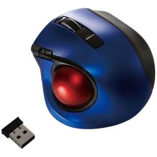 マウス Digio2 ブルー MUS-TRLF132BL [レーザー /無線(ワイヤレス) /5ボタン /USB]