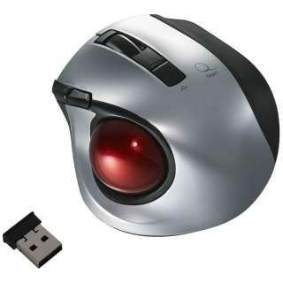 MUS-TRLF132SL マウス Digio2 シルバー [レーザー /5ボタン /USB /無線(ワイヤレス)]