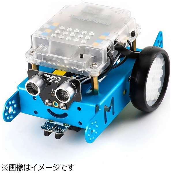 mBot V1.1-Blue(Bluetooth Version) [99095]〔ロボットキット: iOS/Android対応〕【STEM教育】