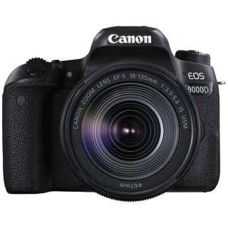 EOS 9000D デジタル一眼レフカメラ EF-S18-135 IS USM レンズキット [ズームレンズ]