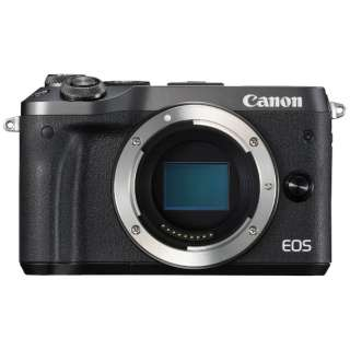 EOS M6 ミラーレス一眼カメラ ブラック [ボディ単体]