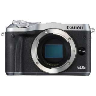 EOS M6 ミラーレス一眼カメラ シルバー [ボディ単体]