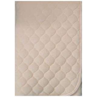 【敷パッド】綿シンカー セミダブルサイズ(120×205Cm/アイボリー)