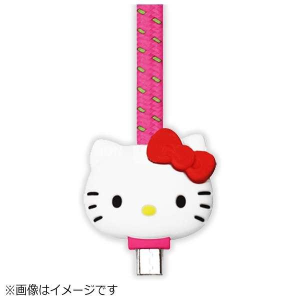 [micro USB]USBケーブル (1m・ハローキティ ピンク)S2BUCMKTY-PK [1.0m]
