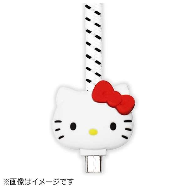 [micro USB]USBケーブル (1m・ハローキティ ホワイト)S2BUCMKTY-WH [1.0m]