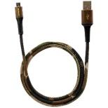 [micro USB]USBケーブル 充電・転送 (0.8m・迷彩柄)OWL-CBJDCMU8-CA [0.8m]