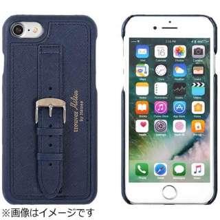 iPhone 6s/6用 trouver Milieu ベルト付きハードケース ネイビー