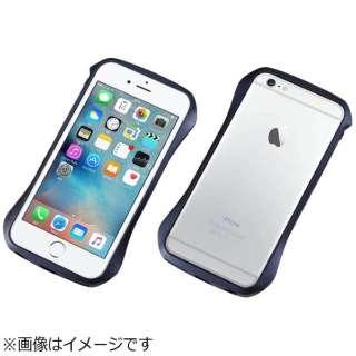 iPhone 6s/6用 CLEAVE Aluminum Bumper ミッドナイトブルー DCB-IP6SA6BU