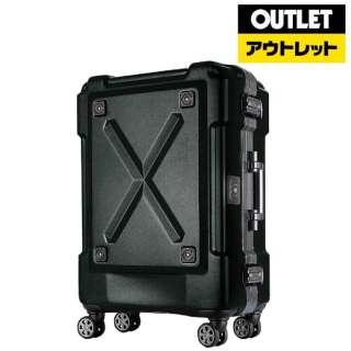 【アウトレット品】 背面収納付スーツケース 67L OUTDOOR(アウトドア) マットカーキ 6302-62-MAT-KH [TSAロック搭載] 【外装不良品】