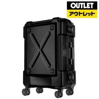 【アウトレット品】 背面収納付スーツケース 86L OUTDOOR(アウトドア) マットブラック 6302-69-MAT-BK [TSAロック搭載] 【外装不良品】