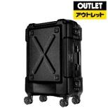 【アウトレット品】 背面収納付スーツケース 67L OUTDOOR(アウトドア) マットブラック 6302-62-MAT-BK [TSAロック搭載] 【外装不良品】