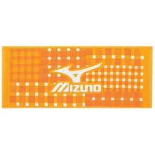 フェイスタオル(34×80cm/オレンジ)32JY610954