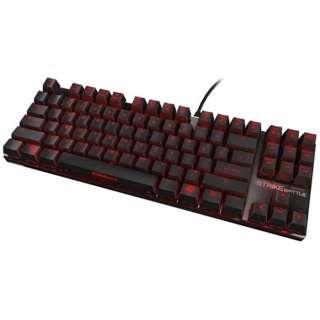OZSTRIKEBATTLERUSRD ゲーミングキーボード  Cherry MX 赤軸 STRIKE BATTLE [USB /有線]