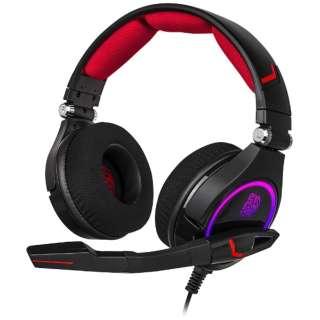 HT-CRO-DIECBK-21 ゲーミングヘッドセット CRONOS ブラック [USB /両耳 /ヘッドバンドタイプ]