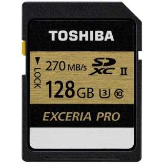 SDXCカード EXCERIA PRO(エクセリアプロ)SDXU-Cシリーズ SDXU-C128G [128GB /Class10]