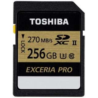 SDXCカード EXCERIA PRO(エクセリアプロ)SDXU-Cシリーズ SDXU-C256G [256GB /Class10]