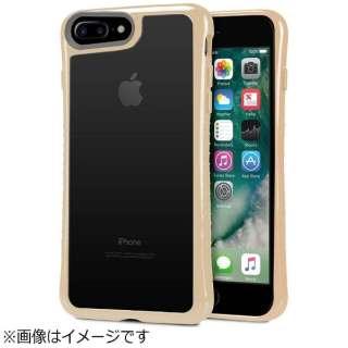 iPhone 7 Plus用 Hybrid Shell 衝撃吸収クリアケース ベージュ TUN-PH-000523