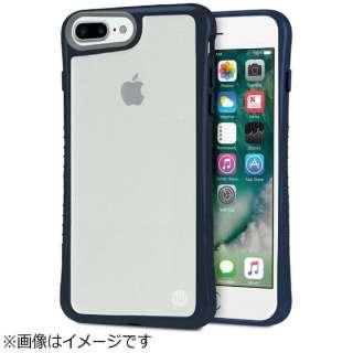 iPhone 7 Plus用 Hybrid Shell 衝撃吸収クリアケース ネイビー TUN-PH-000525