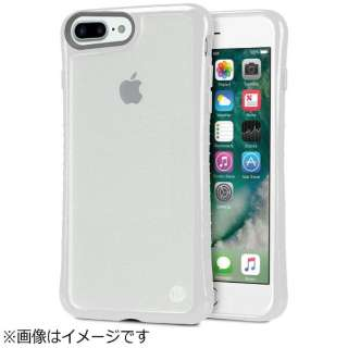 iPhone 7 Plus用 Hybrid Shell 衝撃吸収クリアケース グレイ TUN-PH-000526
