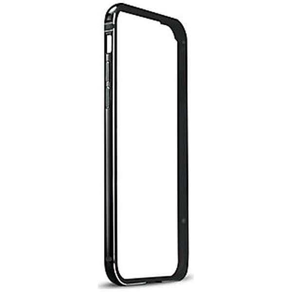 iPhone 7 Plus用 FRAME x FRAME メタルバンパーケース ジェットブラック/ブラック TUN-PH-000519